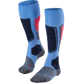 Falke SK1 Skiing Socks Women blue not